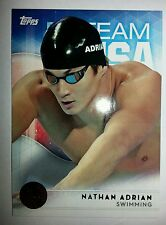 2016 Topps Olympics bronze parallel card #67 Nathan Adrian, swimming