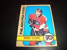 Bobby Clarke 1972-73 Topps Hockey #90 VG+ Condition Philadelphia Flyers