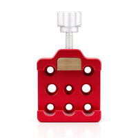 1pcs Medium Dovetail Clamp With a Brass Screws for Telescopes and Cameras Red