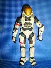 RARE SPARTAN SOLDIER WHITE EVA ARMOUR HALO 3 SERIES 2 FIGURE 2004 MCFARLANE TOYS