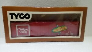 Vintage TYCO Model Train Corn King Freight Car in Box