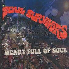 SOUL / R&B CD album - SOUL SURVIVORS - HEART FULL OF SOUL