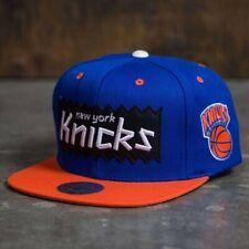 BAIT x NBA x Mitchell And Ness New York Knicks STA3 Wool Snapback Cap royal oran