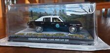Chevrolet Nova, ovp, James Bond 007 Modellauto-Collection, Nr. 43, LALD