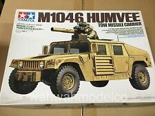 TAMIYA 1/35 M1046 HUMVEE TOW MISSILE CARRIER 35267 MILITARY US ARMY MODEL KIT