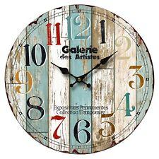 Wanduhr Küchenuhr rustikale Uhr B991746 bunt
