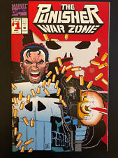 Punisher War Zone # 1 Signed By Chuck Dixon  NM/M Unread Perfect Romita Jr