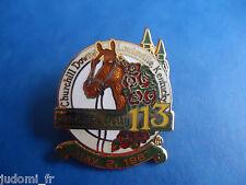 Pin's pin COURSE HIPPIQUE KENTUCKY DERBY 113 CHURCHILL DOWNS LOUISVILLE (ref L25