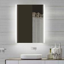 NEU Design Badezimmerspiegel Wandspiegel mit Led in Warm-/Kaltweiß SPS60X82DP