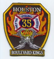 Houston Fire Department Station 35 Patch Texas TX v2