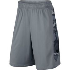 """NIKE PRO TRAINING 10"""" HYPERSPEED KNIT CAMO DRI-FIT Shorts Mens Large L (gray NWT"""