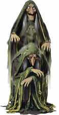 Swamp Hag Rising Animated Halloween Prop Witch Haunted House Yard Scary Decor