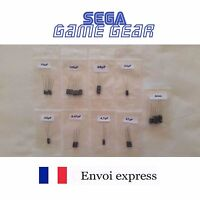 FULL Cap Kit condensateurs - SEGA GAME GEAR - Son Image Alimentation -Capacitors