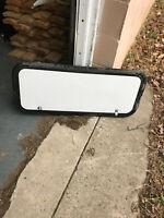 """RV/Trailer Cargo Door / Access Door. White, 34""""X14"""", With Lock & Keys, #133F"""