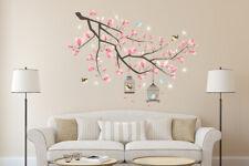 Walplus Wall Sticker Decal Wall Art Pink Cherry Blossom  Room Home Decoration