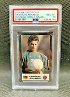 2004 UK Traditions World Stars Cristiano Ronaldo Rookie RC PSA 10 Gem Mint RARE