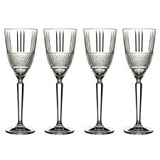 4pc Maxwell & Williams Verona 225ml Wine Glass Crystal Drinking Glasses Clear