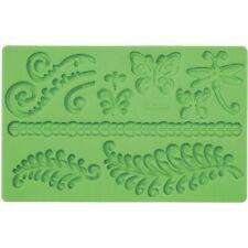 Wilton Fondant & Gum Paste Silicone Mold Ferns New!