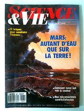 SCIENCE ET VIE n°867 du 12/1989; Mars; autant d'eau que sur la terre !