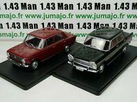 LOT 2 Voitures 1/24 SALVAT : SEAT 124L (1969) et 1500 (1971)