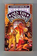 OLD TIN SORROWS (Glen Cook/1st US/PBO/#4 Garrett PI/artist Tim Hildebrandt)