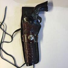"Western 3"" Drop Colt SAA 51/2,61/2,Ruger Vaquero,Blackhawk Left Leather Holster"