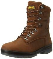 Wolverine Men's 8 Inch Durashock High Performance Work Boot, Stone, Size 13.0 Xt