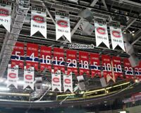 NHL Bell Molson Center Montreal Canadiens Rafters Color 8 X 10 Photo Picture