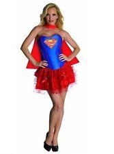 LAST ONE New Womans Corset Tutu Supergirl Halloween Costume Dress SZ Medium 6-10