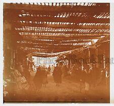 Maroc Fez Plaque de verre stéréo 45x107mm Vintage ca 1910