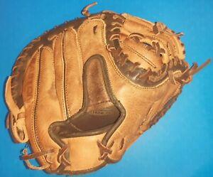 """Easton #NE-2Y Natural Elite Catcher's Mitt 30"""", Youth Baseball, Right Handed"""