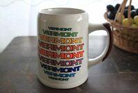Stoneware Brown Speckled Coffee Mug - Vermont