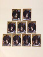 1990-91 NBA HOOPS #11 ISIAH THOMAS DETROIT PISTONS ALL-STAR HOF LOT OF 9