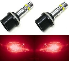 LED 50W 893 H27 Red Two Bulbs Fog Light Replacement Show Use Lamp Off Road
