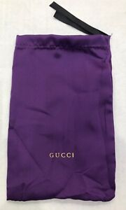 GUCCI Original Sunglasses Eyewear Eyeglasses Pouch with cleaning cloth