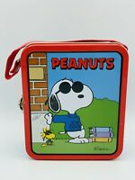 "1999 United Feature Syndicate Inc., Peanuts ""Snoopy"" Mini Metal Tin Lunchbox"