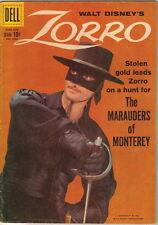 Walt Disney's Zorro Four Color Comic Book #1003, Dell Comics 1959 VERY GOOD+