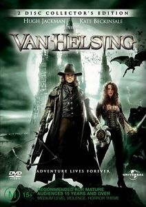 Van Helsing DVD Hugh Jackman, Kate Beckinsale - REGION 4 AUSTRALIA