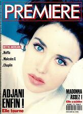 PREMIERE N°192 MARS 1993 ADJANI/ SARANDON/ MADONNA/ NICHOLSON/ G.MILLER/ DEPP
