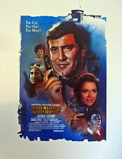 JAMES BOND ON HER MAJESTY'S SECRET SERVICE OFFICIALLY LICENSED LTD ED LITHOGRAPH