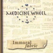 FREE US SHIP. on ANY 2 CDs! ~Used,VeryGood CD Medicine Wheel: Immoral Fabric Imp