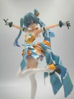 Hatsune Miku Orange Blossom Painted Action PVC Figure Anime Toy New  in box