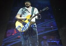 The Edge U2 Guitarist Concert Hand Signed 11x14 Autographed Photo W/COA Proof