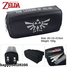 Nintendo The Legend of Zelda Stationery Bag Zipper Pencil Case Cosmetic Bags