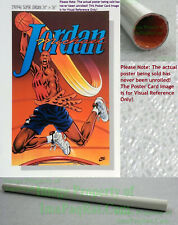 NITF Vintage Original NIKE Basketball Poster ☆ SUPER JORDAN ☆ Michael OLD STOCK