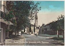 CORDOVADO - PIAZZA CECCHINI CON SANTUARIO DELLA MADONNA (PORDENONE) 1960