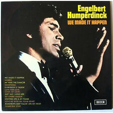 ENGELBERT HUMPERDINCK  Vinyl LP We Made It Happen, EX+