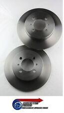 Quality OE Spec Rear Brake Discs x 2 For- Mazda Mk1 MX5 NA NA6 1.6 B6ZE