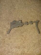 1990 GI Joe ARAH Cobra Capt Captain Grid Iron Machine Gun Weapon Vintage