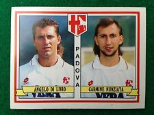 CALCIATORI 1992-93 n 439 PADOVA DI LIVIO NUNZIATA , Figurina Sticker Panini NEW